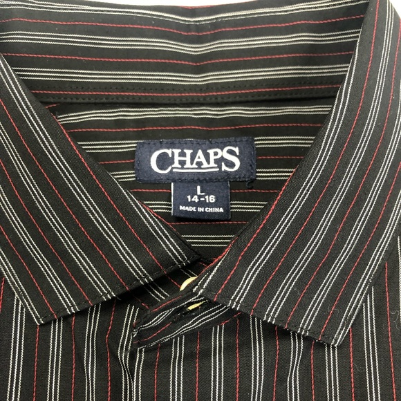 Chaps Other - Boys chaps long sleeve dress shirt 14/16 NWT